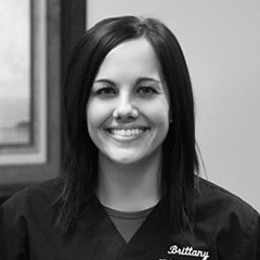 Dentist's Assistant Brittany - B&W Dentist office Staff photo